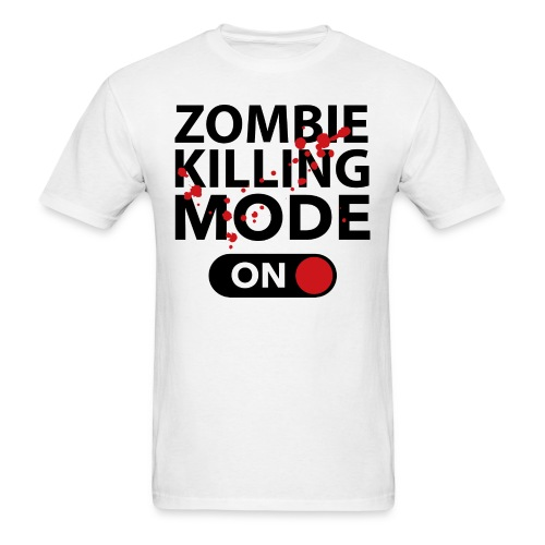 T-shirt Zombie killing - Men's T-Shirt