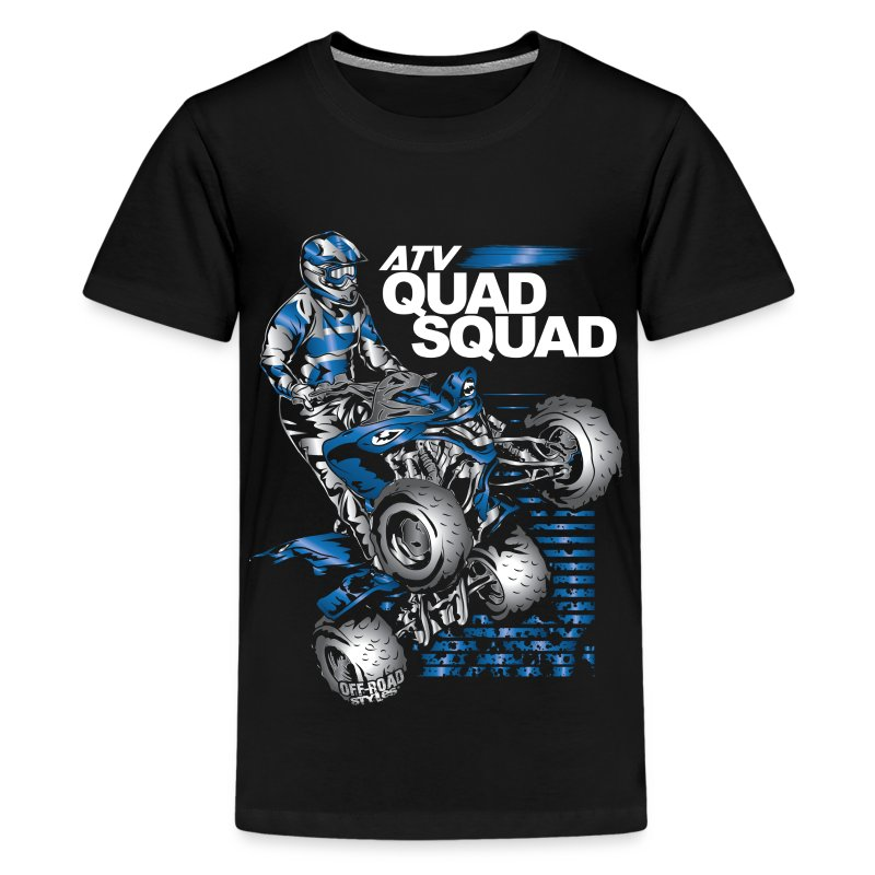 atv quad squad yamaha t shirt spreadshirt. Black Bedroom Furniture Sets. Home Design Ideas