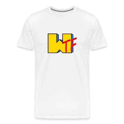 WTF  - Men's Premium T-Shirt