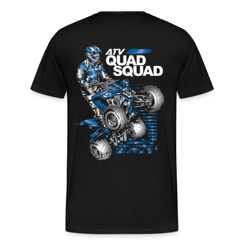 Yamaha Quad Squad BACK - Men's Premium T-Shirt