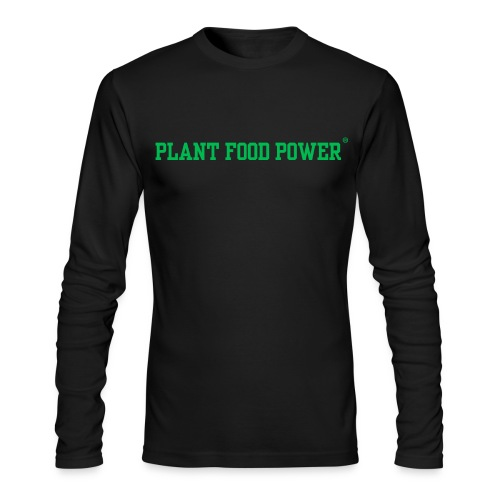 Men's Plant Food Power Long Sleeve - Men's Long Sleeve T-Shirt by Next Level