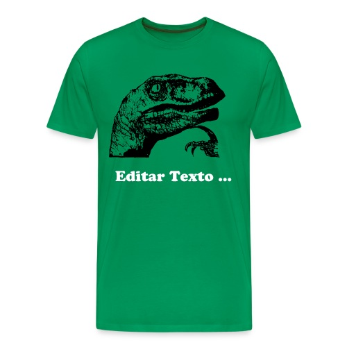 Filosoraptor Editable - Men's Premium T-Shirt