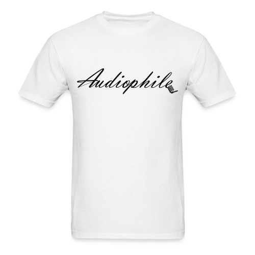 Audiophile - Men's T-Shirt