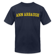 T-Shirts ~ Men's T-Shirt by American Apparel ~ Welcome to Ann 'Arbaugh
