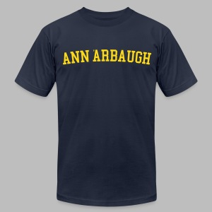 Welcome to Ann 'Arbaugh - Men's T-Shirt by American Apparel