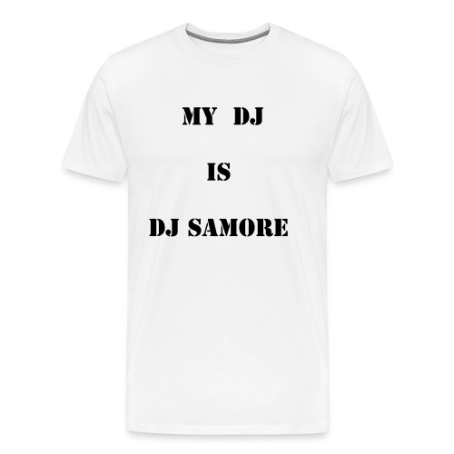 WHO IS MY DJ  - Men's Premium T-Shirt