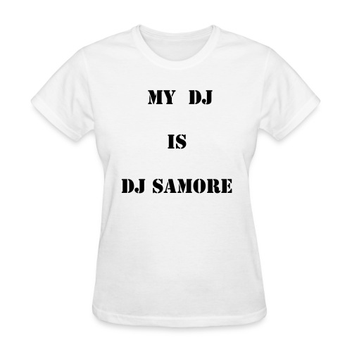WHO IS MY DJ  - Women's T-Shirt