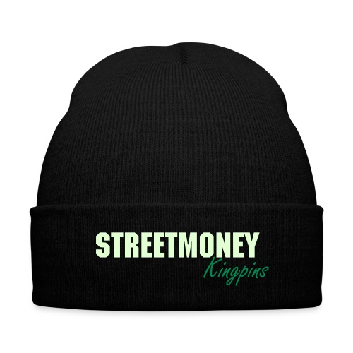 StreetMoney Kingpins SkullCap - Knit Cap with Cuff Print