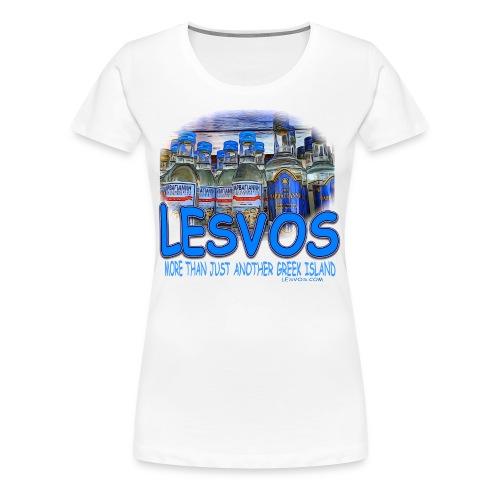 LESVOS OUZO 1 (women) - Women's Premium T-Shirt