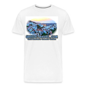 GREECETRAVEL SUNSET (men) - Men's Premium T-Shirt
