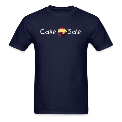 Cake Sale T-shirt - Navy - Men's T-Shirt