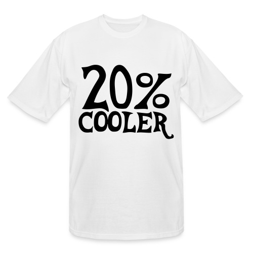 Tall 20% Cooler T-shirt - Men's Tall T-Shirt