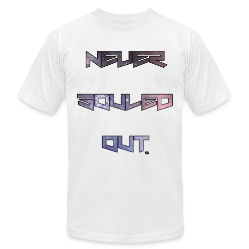 Never Souled Out™ Front & Back Swag Edition - Men's Fine Jersey T-Shirt