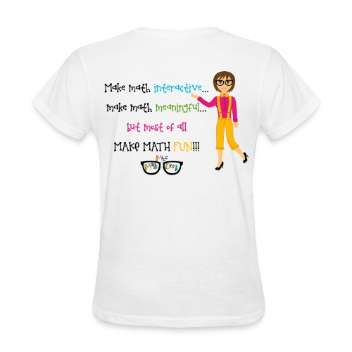 Make math... (for light shirts) - Women's T-Shirt