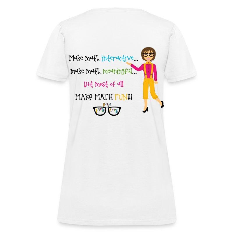 Make math... (for light shirts) - Women's T-Shirt