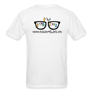 MissMathDork logo tee - Men's T-Shirt