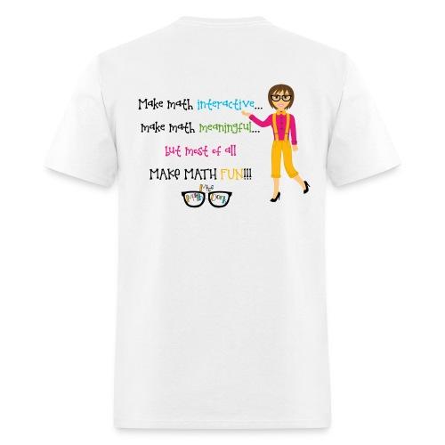 Make math... (for light shirts) - Men's T-Shirt