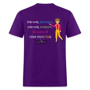 Make math... (for dark shirts) - Men's T-Shirt
