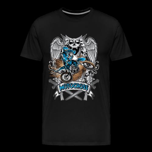 Heraldic Motocross Sports - Men's Premium T-Shirt