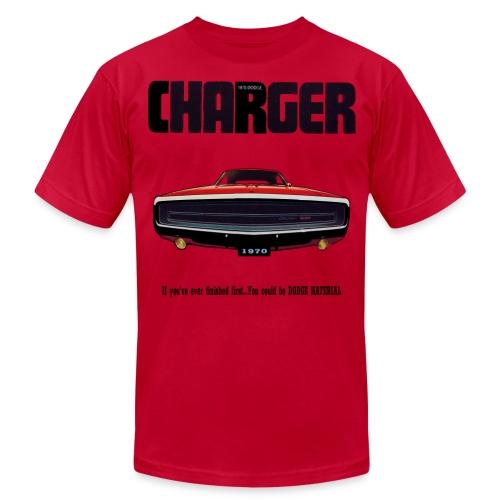 1970 Charger - Men's Fine Jersey T-Shirt