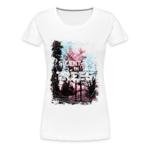Silent in the Trees  - Women's Premium T-Shirt