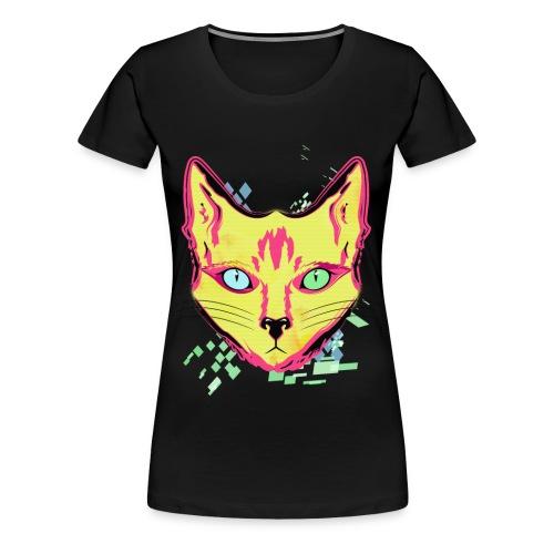 Rad Cat Tee - Women's - Women's Premium T-Shirt