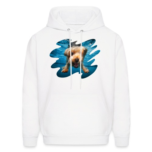Underwater Dogs - Men's Hoodie