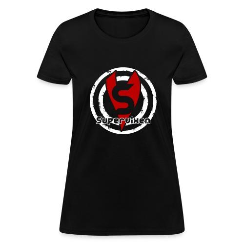 Womens Bullseye Red and White - Women's T-Shirt