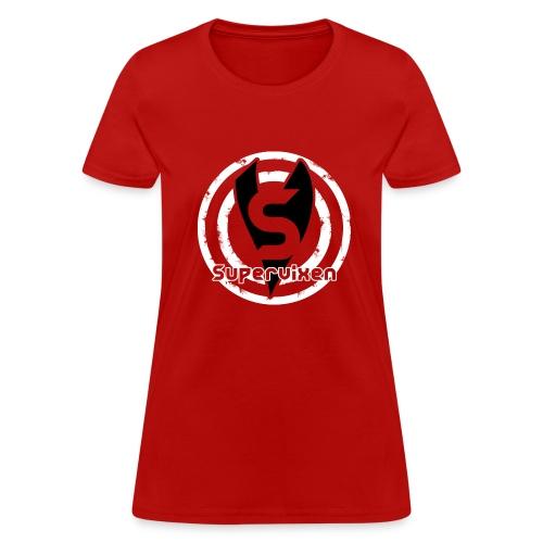 Womens Bullseye Black and White - Women's T-Shirt