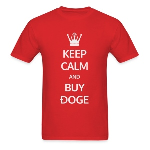 Keep Calm and Buy Ðoge - Men's T-Shirt