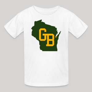 GB - Wisconsin - Kids' T-Shirt