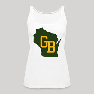 GB - Wisconsin - Women's Premium Tank Top