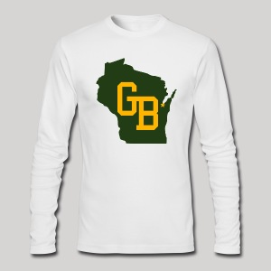 GB - Wisconsin - Men's Long Sleeve T-Shirt by Next Level