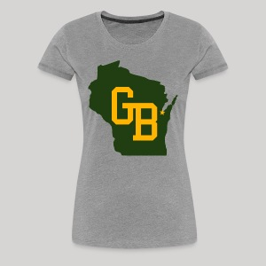GB - Wisconsin - Women's Premium T-Shirt