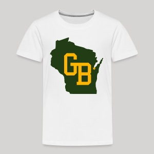 GB - Wisconsin - Toddler Premium T-Shirt