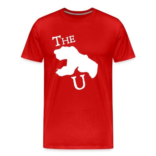 The U - For Big Men - Men's Premium T-Shirt