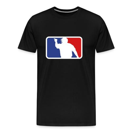 Baseball Shirt Umpire Logo - Men's Premium T-Shirt
