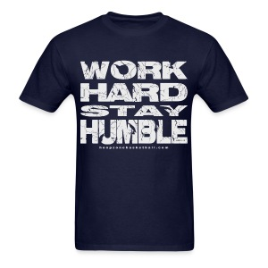 Work Hard w/light art - Men's T-Shirt