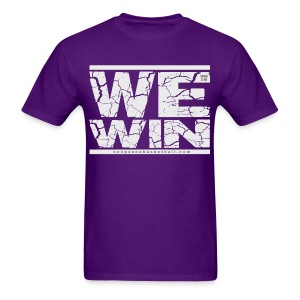 We Win w/light art - Men's T-Shirt