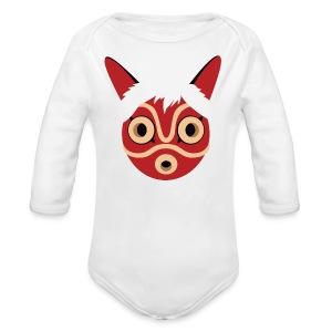 Mononoke Mask BABY - Long Sleeve Baby Bodysuit