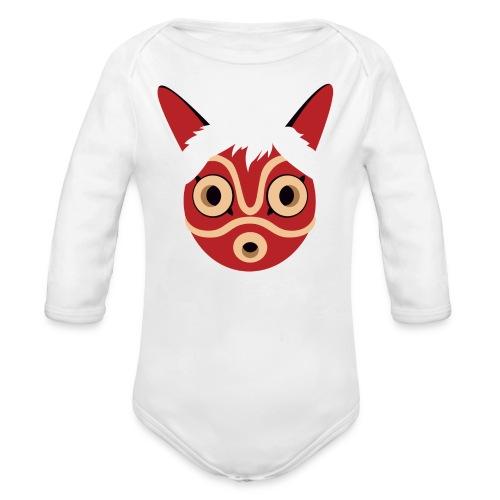 Mononoke Mask BABY - Organic Long Sleeve Baby Bodysuit