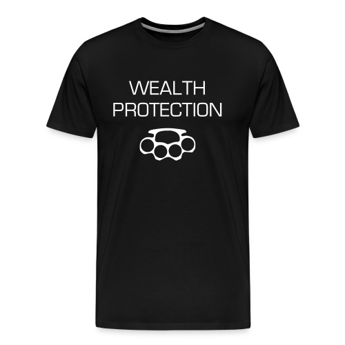 WEALTH PROTECTION tee - Men's Premium T-Shirt