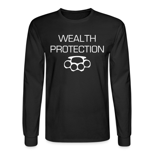 WEALTH PROTECTION Long sleeve tee - Men's Long Sleeve T-Shirt