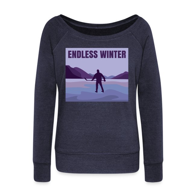 Endless Winter- Wideneck Sweatshirt