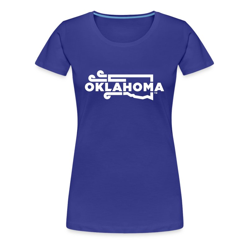 Okie Wind - Women - Blue - Women's Premium T-Shirt