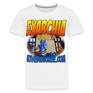 EXARCHIA WHITE (kids) - Kids' Premium T-Shirt