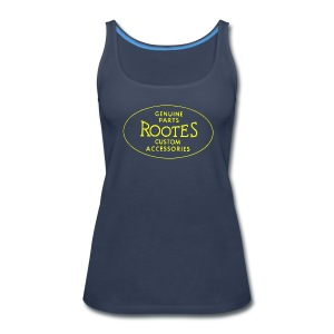 Women's Rootes on Front - Women's Premium Tank Top