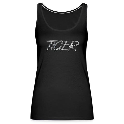 Women's Tiger on Front - Women's Premium Tank Top
