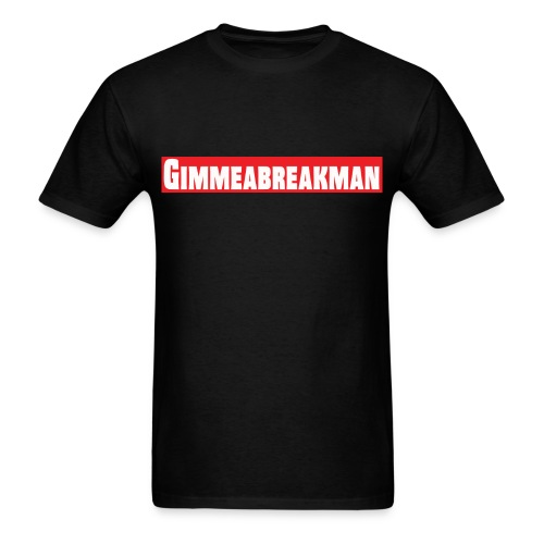Gimmeabreakman - red (Men's T-Shirt) - Men's T-Shirt