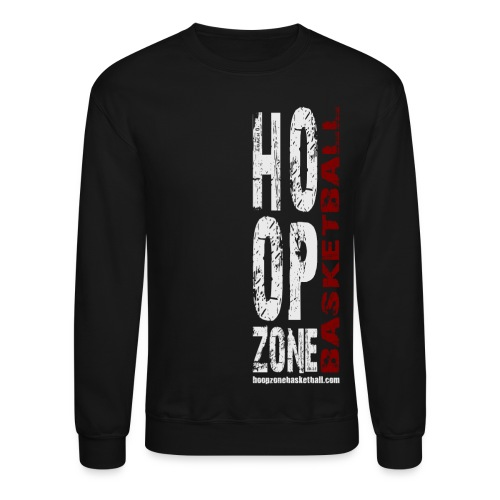 HZ Crew Sweatshirt w/light art - Crewneck Sweatshirt
